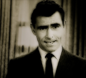 """Rod Serling, from """"The Twilight Zone"""" TV series"""