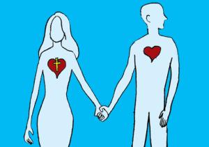 unequally yoked couple