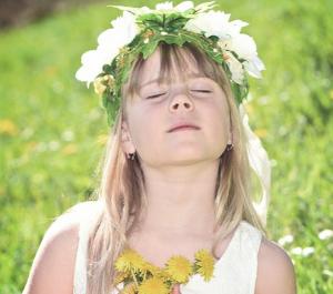 Flower girl free pic